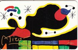 GERMANY(chip) - Galerie Der Fälschungen, Joan Miro/Labyrinth Der Zeit(O 485), Tirage 3000, 02/93, Mint - O-Series : Séries Client