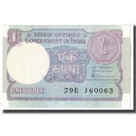 Billet, Inde, 1 Rupee, 1991, KM:78Ac, NEUF - Inde