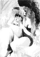 HANNA NAGEL    VOR DEM AUFTRITT    -   Paris 20 - Künstlerkarten