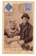 Briefkaart 1924 Scheveningen Zuid Bevelandsche Kleederdracht Katholiek Congo Belge - Briefe U. Dokumente