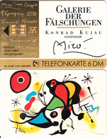 GERMANY(chip) - Galerie Der Fälschungen, Joan Miro/Fische Am Riff(O 485), Tirage 3000, 02/93, Mint - O-Series : Séries Client