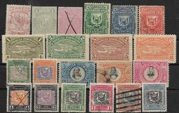 OLD DOMINICAN REPUBLIC Selection Of 21v MH, Used - Dominique (1978-...)