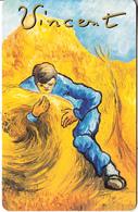 GERMANY(chip) - Galerie Der Fälschungen, Vincent Van Gogh/Der Garbenbinder(O 047), Tirage 3000, 07/93, Mint - O-Series : Séries Client