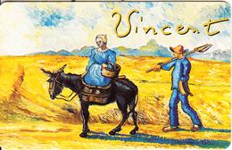 GERMANY(chip) - Galerie Der Fälschungen, Vincent Van Gogh/Weg Zum Feld(O 025), Tirage 3000, 06/93, Mint - O-Series : Séries Client
