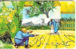 GERMANY(chip) - Galerie Der Fälschungen, Vincent Van Gogh/Die Ersten Schritte(O 841), Tirage 3000, 04/93, Mint - O-Series : Séries Client