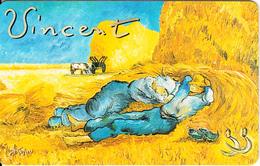 GERMANY(chip) - Galerie Der Fälschungen, Vincent Van Gogh/Siesta(O 486), Tirage 3000, 02/93, Mint - O-Series : Séries Client
