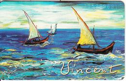 GERMANY(chip) - Galerie Der Fälschungen, Vincent Van Gogh/Fischerboote(O 293), Tirage 3000, 11/92, Mint - O-Series : Séries Client