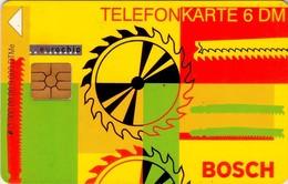 TARJETA TELEFONICA DE ALEMANIA. Bosch (taladro + Engranaje). O900 09.98, TIRADA 9000 (440) - O-Series : Séries Client