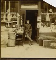 France Région Lilloise Magasin Publicité Jougla Papier Photo Ancienne Photo 1920 - Photographs