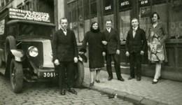 France Publicité Pour Appareil Photo Nagel Sur Camion Ancienne Photo 1930 - Photographs