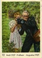 Publicité Pour Chocolat Cote D'Or Photographe Ancienne Photo 1937 - Non Classés
