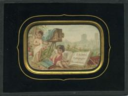Publicité Pour Cairol Photographe à Périgueux Ancienne Chromo Encadree 1870 - Vieux Papiers