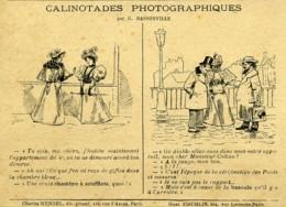 Calinotades Photographiques Par Dassonville 1900 - Vieux Papiers
