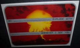Carte Postale - BT Easyreach / BT Mobility (explosion Nucléaire) - Publicité
