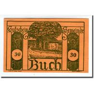 Billet, Autriche, Buch, 30 Heller, Texte 1, 1920, SPL, Mehl:113a - Autriche
