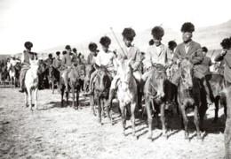 Lesotho Maseru Visite Du Prince De Galles Cavaliers Basuto Ancienne Photo De Presse 1920's - War, Military