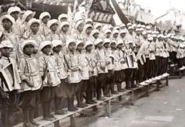 Malaysie Kuala Lumpur Visite Du Prince De Galles Enfants Ancienne Photo De Presse 1920's - War, Military