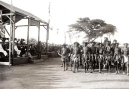 Botswana Gaberone Visite Du Prince De Galles Indaba Indigenes Ancienne Photo De Presse 1925 - War, Military
