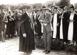 Afrique Du Sud Grahamstown Prince De Galles Université Rhodes Ancienne Photo De Presse 1925 - War, Military