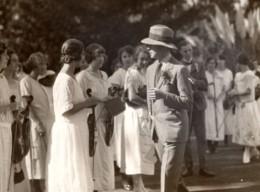 Afrique Du Sud Grahamstown Prince De Galles Violonistes Ancienne Photo Sketch 1925 - War, Military