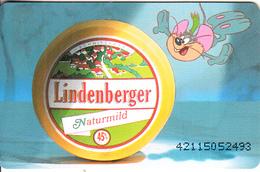 GERMANY(chip) - Lindenberger Käse 4(K 481), Tirage 7000, 11/92, Mint - O-Series : Séries Client