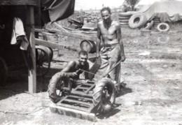 Philippines WWII Australiens RAAF Terrain D'Aviation Ancienne Photo De Presse 1945 - War, Military