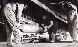 Grande Bretagne WWII Coastal Command Vickers Wellington Bombe Eclairante Ancienne Photo 1944 - War, Military