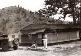 Nouvelle Guinee WWII Salon De Beaute Emile Ancienne Photo De Presse 1944 - War, Military