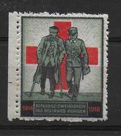 Swiss Soldatenmarke Morgen Rotes Kreuz 1914-1918 Red Cross - WO1