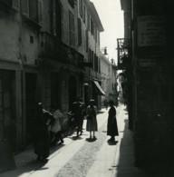 Italie Lac Majeur Pallanza Via Cavour Ancienne Photo Stereo Possemiers 1900 - Stereoscopic