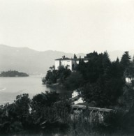 Italie Lac Majeur Pallanza Castagnola Ancienne Photo Stereo Possemiers 1900 - Photos Stéréoscopiques