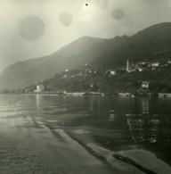 Italie Lac Majeur Barbè Superiore Ancienne Photo Stereo Possemiers 1900 - Stereoscopic