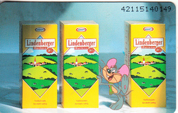 GERMANY(chip) - Lindenberger Käse 2(K 454), Tirage 4000, 11/92, Mint - O-Series : Séries Client