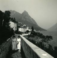 Italie Lac De Lugano Oria Villa Marchese Brusati Ancienne Photo Stereo Possemiers 1900 - Photos Stéréoscopiques