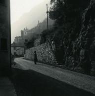 Italie Lac De Lugano Albogasio Ancienne Photo Stereo Possemiers 1900 - Stereoscopic