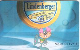 GERMANY(chip) - Lindenberger Käse 1(K 453), Tirage 7000, 11/92, Mint - O-Series : Séries Client