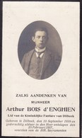 DILBEEK Arthur BOIS D'ENGHIEN 1899-1917 Membre De La Fanfare De Dilbeek Souvenir Mortuaire DP - Décès
