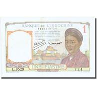 Billet, FRENCH INDO-CHINA, 1 Piastre, Undated (1946), KM:54c, SUP - Indochine