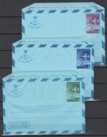 Grecia Interi Postali Aerei 3 Val. MNH/** VF - Enteros Postales