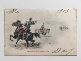 AK CP Trompette De Hussards 1900 Malespine Del Bergeret Nancy - Uniforms