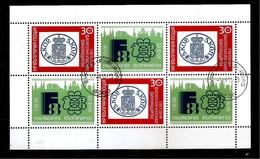 BULGARIA BLOCK-PHILATELIC EXHIBITION, FINLANDIA '88 -BULGARIA 1989.used (LOT -  7 -735 ) - Bulgaria