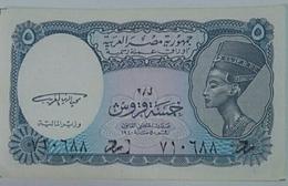 Egypt 5 Piasters UNC - Egypte