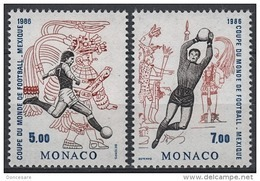 MONACO 1986 SERIE - N° 1528 ET 1529 - 2 TP NEUFS** - Unused Stamps