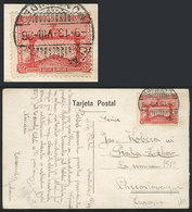 TOPIC FOOTBALL/SOCCER: Postcard Franke By Sc.389 (5c. Football Team Olympic Winners), Sent To Czechoslovakia On 13/AU/19 - Soccer