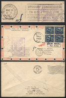 TOPIC FOOTBALL/SOCCER: Airmail Cover Sent From USA To Montevideo On 11/JA/1930 (first Flight Canal Zone - Ururuguay), On - Non Classés