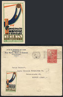 TOPIC FOOTBALL/SOCCER: Cover Sent From Montevideo To Buenos Aires On 2/JUL/1930, With Postage Along A Cinderella Topic F - Non Classés