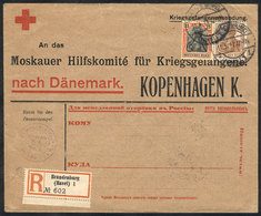 GERMANY: Red Cross Cover That Contained A Letter Of A Prisoner Of War In Brandenburg, Sent By Registered Mail On 11/MAY/ - Allemagne