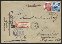 GERMANY: 15 Airmail Covers Sent To Argentina Between 1935 And 1937, Various And Very Interesting Frankings, VF Quality! - Allemagne