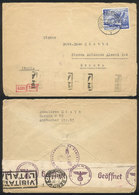 GERMANY: Cover Sent From Berlin To Italy On 25/OC/1940 With Interesting CENSOR Marks On Front And Back! - Allemagne