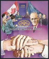 UPPER VOLTA: Sc.C304, 1984 Paul Harris, Rotary, IMPERFORATE Variety, VF Quality! - Haute-Volta (1958-1984)